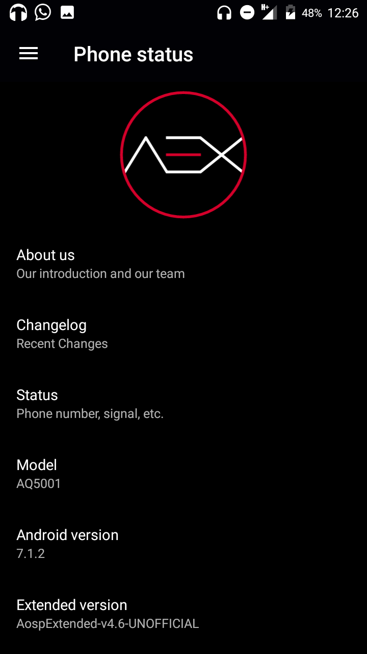 AOSP EXTENDED{7 1 2} 3 10 54 – TEAM ANONYMOUS 🎭